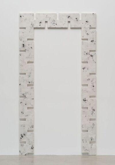 Rosha Yaghmai, 'Gates (iron, aluminum, silver nickel)', 2015