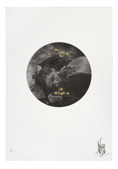 Nina Mae Fowler, '(Bull) Fever - Gold Leaf Embellishments', 2011
