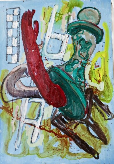 Gresham Tapiwa Nyaude, 'Covid Blues Pt 8', 2020