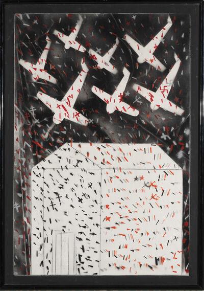 Franco Angeli, 'La casa sulla scogliera', 1985-88