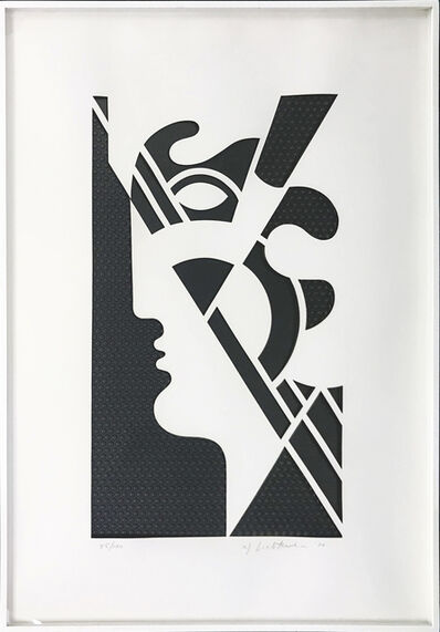 Roy Lichtenstein, 'MODERN HEAD #5', 1970