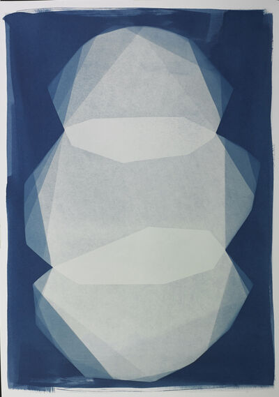 Iswanto Soerjanto, 'Transformation in Blue plate #22', 2018