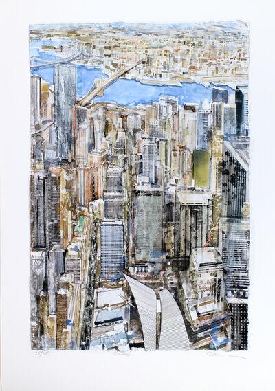 "Gottfried Salzmann, '""New York - East River""', 2017"