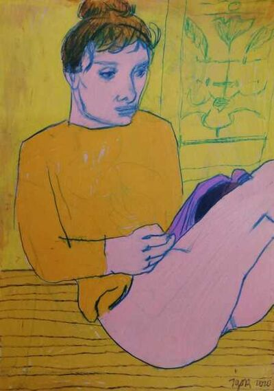 Igor Moritz, 'Juliette in yellow', 2020