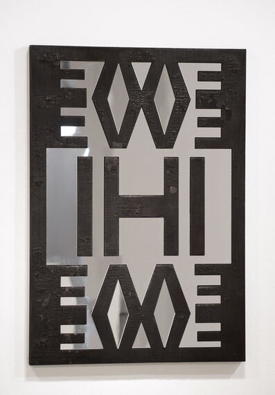 Kendell Geers, 'Four Letter Brand (Evil) 1', 2009/2014