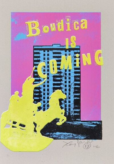 Jamie Reid, 'Boudica is Coming, Estate Editions', 2018