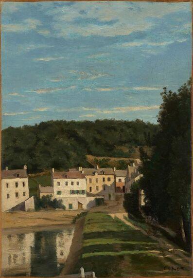 Jean-Baptiste-Camille Corot, 'Ville-d'Avray. Le chemin de Corot et les maisons Cabassud,', 1840-1845