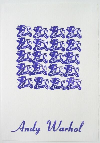 Andy Warhol, 'Purple Cows (FS II.17A)', 1967