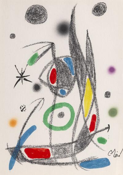 Joan Miró, 'Maravillas con Variaciones Acrosticas en el Jardin de Miro, Number 16', 1975