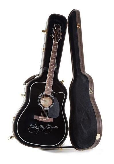 Jon Bon Jovi, ' Jon Bon Jovi's Autographed Acoustic Guitar'