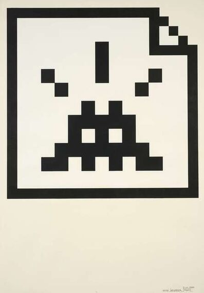 Invader, 'SPACE FILES', 2006