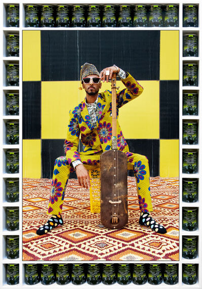 Hassan Hajjaj, 'Arfoud Brother', 2017/1438