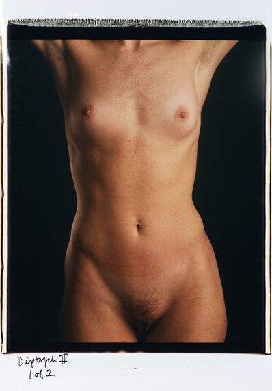 Chuck Close, 'Torso 11 (diptych)', 1999