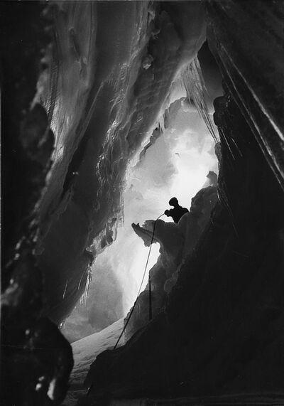 Riccardo Moncalvo, 'Nel crepaccio', 1950