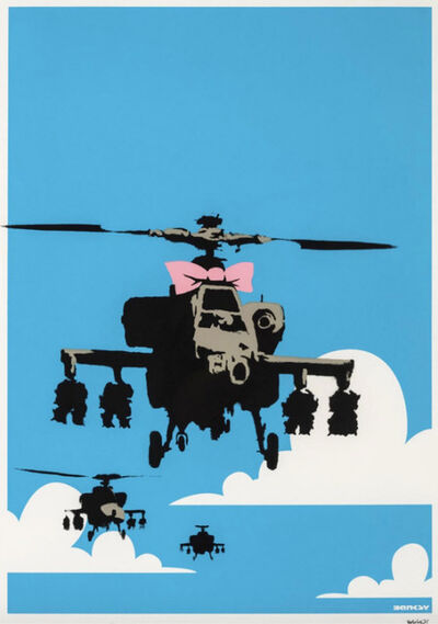 Banksy, 'Happy Chopper (signed)', 2003