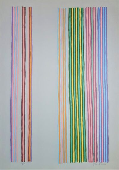 Gene Davis, 'Royal Curtain', 1980