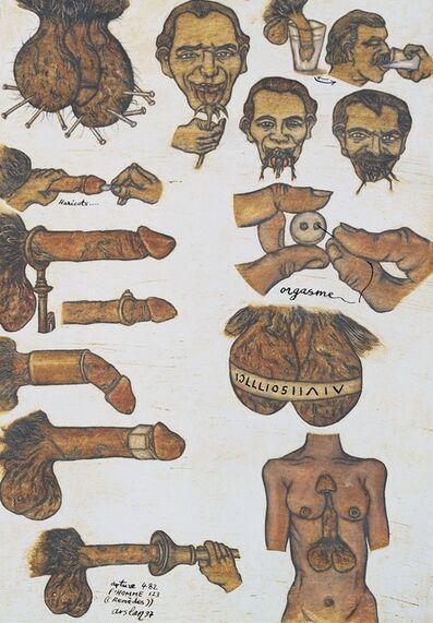 Yuksel Arslan, 'Arture 482, Remèdes, l'Homme', 1997