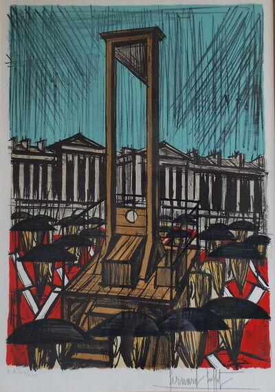 Bernard Buffet, 'La guillotine', 1977