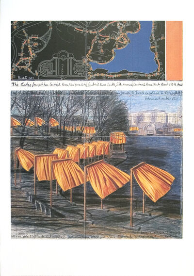Christo, 'Project for the Gates VIII', 2003