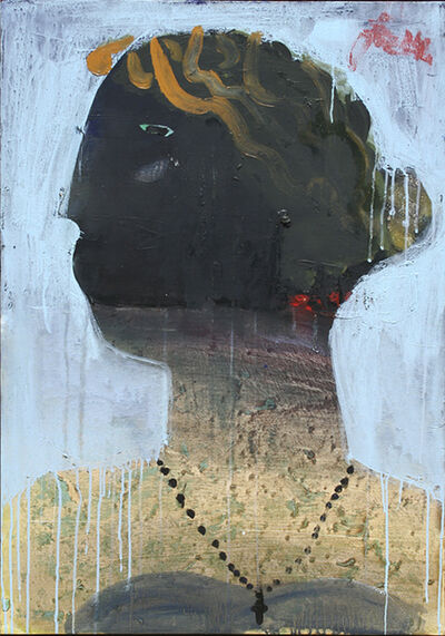Serhiy Hai, 'Female Portrait with Green Eye', 2014