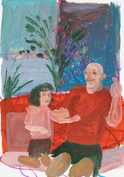Franco Fasoli, 'Man with Child', 2018