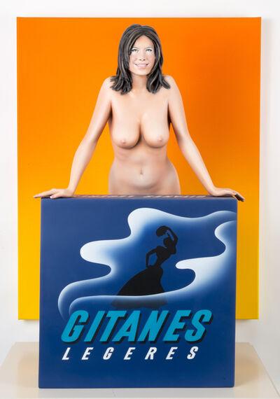 Mel Ramos, 'Gitanes', 2012