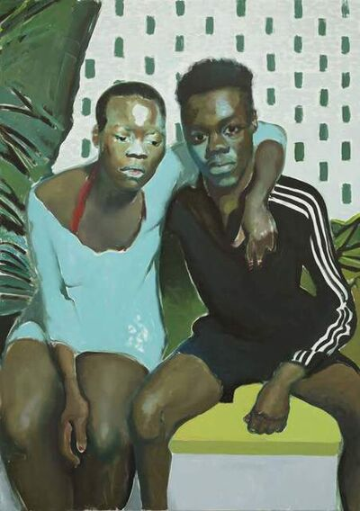 Jonathan Wateridge, 'Couple By Wall', 2018