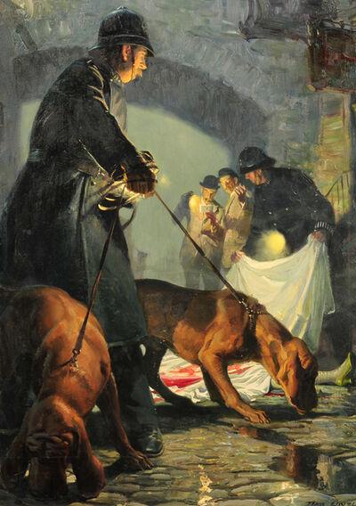 Tom Lovell, 'The Crime Scene', 1956