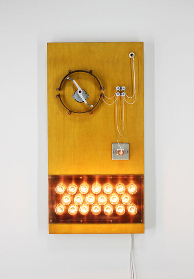 Satoru Tamura, 'Point of Contact for 20 Incandescent Lamps #7', 2018
