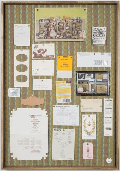 Christine Hill, 'Musterbrett (Sample Board) 07', 2012