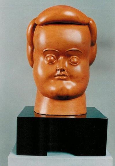 Fernando Botero, 'Woman's Head', 1987