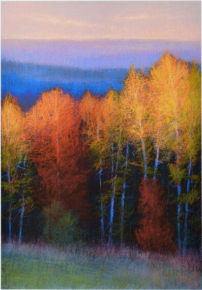 M. Katherine Hurley, 'Autumn Sunset'