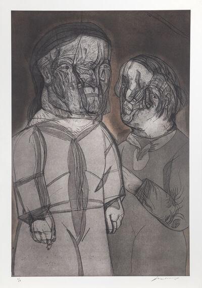 Jose Luis Cuevas, 'Justine y el Marquez de SAde ', 1989