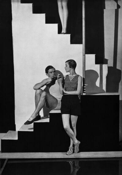George Hoyningen-Huene, 'Beachwear by Schiaparelli, Bettina Jones', 1928