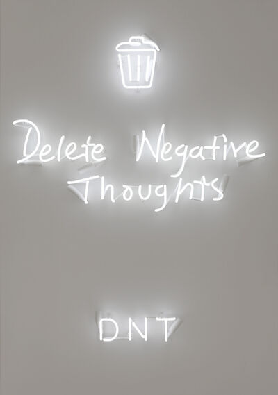 Rachel Lee Hovnanian, 'DNT (Delete Negative Thoughts)', 2018