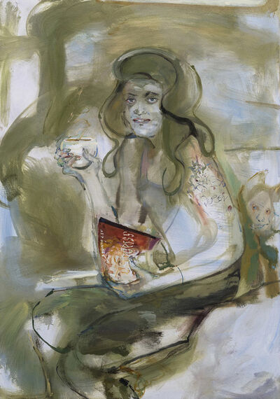Angela Dufresne, 'Queen Research-Caterina Sforza and Coffee', 2018
