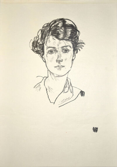 Egon Schiele, 'Portrait of a Young Woman', 1920