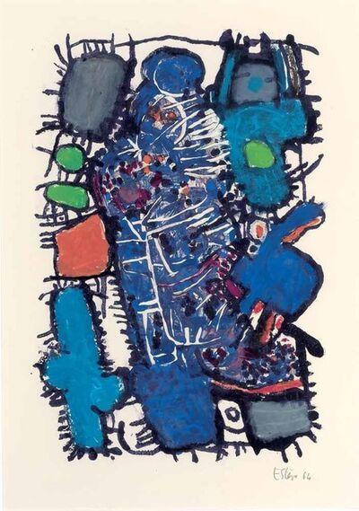 Maurice Estève, 'M - 32', 1964