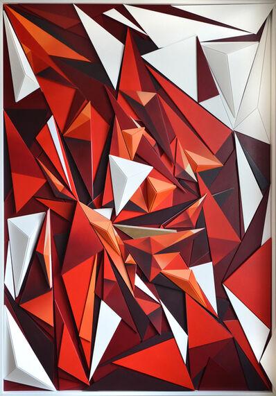 Laurent Peybernes, 'Rouge ', 2016