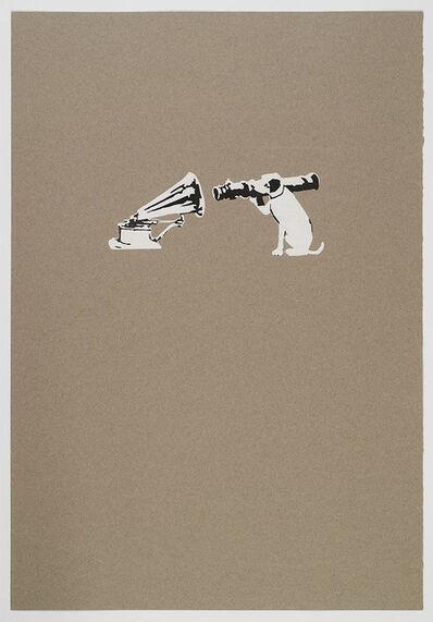 Banksy, 'HMV Dog', 2002