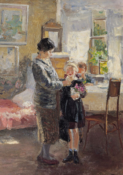 Tatyana Aleksandrovna Shevchenko, 'First day of the school year', 1946