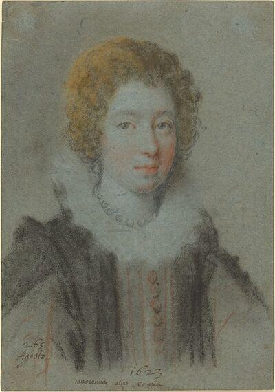 Ottavio Leoni, 'Portrait of a Lady', 1623