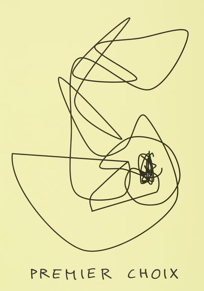 Claude Closky, 'Premier choix (jaune jonquille) (b)', 2020