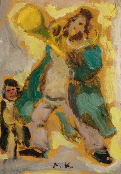 Mané-Katz, 'Musiciens Juifs', 1961