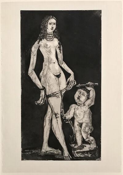 Pablo Picasso, 'Venus et l'amour, d'après Cranach', 1949