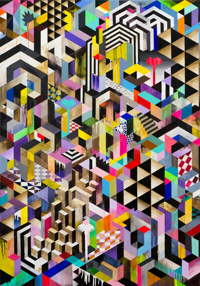 Michael Conrads, 'Rubik City', 2014