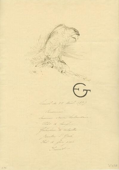 Henri de Toulouse-Lautrec, 'L'Épervier (1re planche)', 1899
