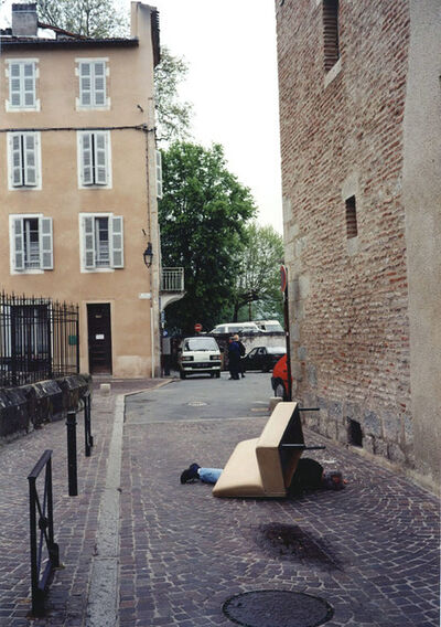 Erwin Wurm, 'Outdoor sculpture Serie Cahors', 1999
