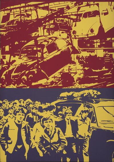 Ivan Messac, 'La chaîne (le travail qui tue)', 1972