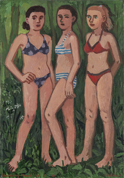 Zoya Cherkassky-Nnadi, 'Bathers', 2020